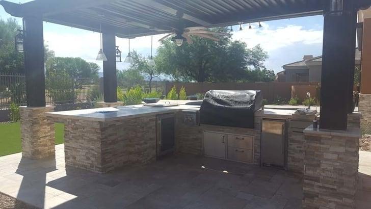 roseville outdoor bar contractor